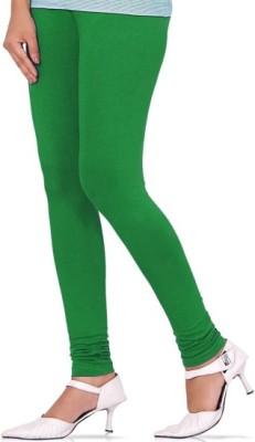 Aamyra Women's Light Green Leggings