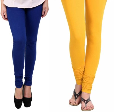 Vastra Buzz Women's Dark Blue, Yellow Leggings