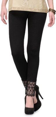 Aarushi Fashion Women's Black Leggings