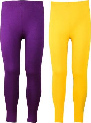 Jazzup Girl's Multicolor Leggings