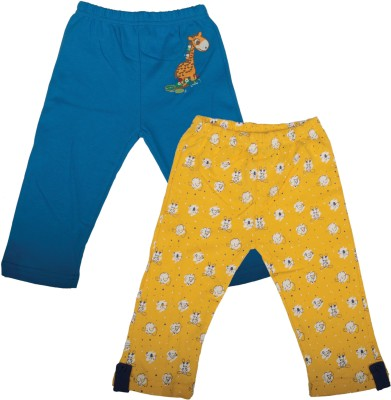 Mee Mee Baby Girl's Yellow, Blue Leggings