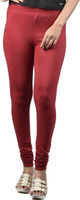 ABE Women's Maroon Leggings