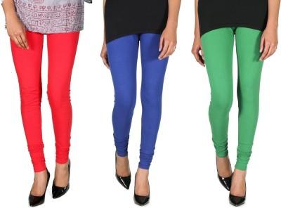 Ally Of Focker Women's Red, Blue, Green Leggings