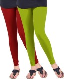 Arma Women's Orange, Green Leggings (Pac...