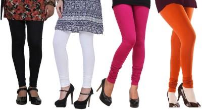 Blu Women's Black, White, Pink, Orange Leggings