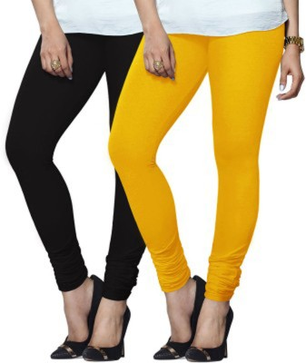 Zoey Oliva Women's Yellow, Red Leggings