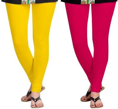 AF Sayonara Women's Yellow, Pink Leggings