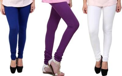 Lienz Women's Blue, Purple, White Leggings