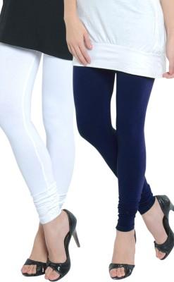 Tulsattva Women's Dark Blue, White Leggings
