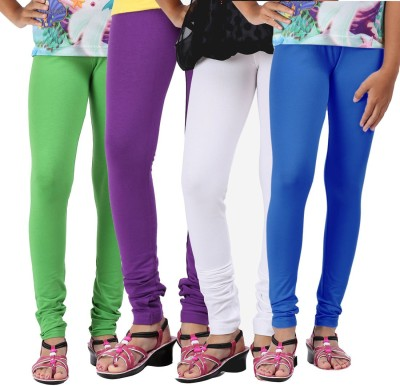 Greenwich Girl,s Green, Purple, White, Blue Leggings