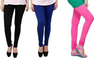 Lienz Women's Black, Blue, Pink Leggings