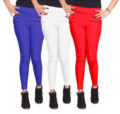 Xarans Women's Multicolor Jeggings