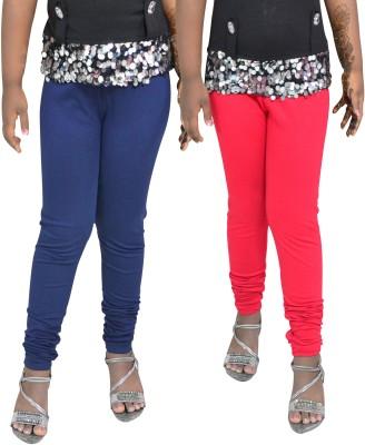 1 For Me Girl,s Red, Dark Blue Leggings