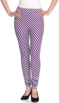 Vanita Women's Purple Leggings
