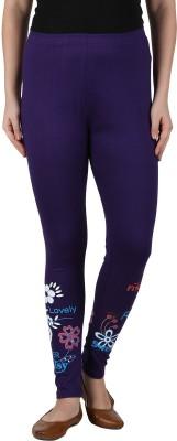Franclo Women's Purple Leggings