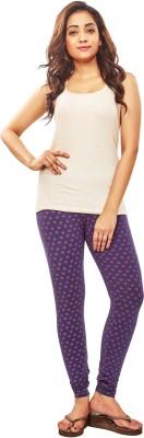 Luca Fashion Women's Purple Leggings