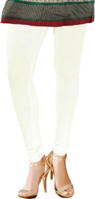 TBZ Women's White Leggings