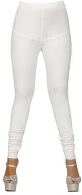 The perfect comfort Women's White Leggings