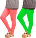 Leggings World Women's Green, Pink Leggi...