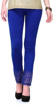 Aashish Fabrics Women's Blue Leggings