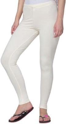 AbsoulteDesi Women's White Leggings