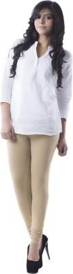 Medha Women's Beige Leggings