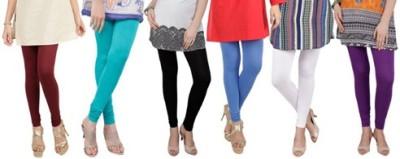 Prekrasna Women,s Maroon, Light Blue, Black, Blue, Beige, Purple Leggings
