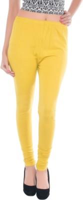 DOPL Women,s Yellow Leggings