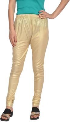 Fashion Club Women's Gold Leggings