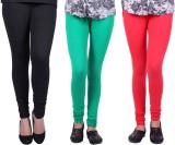 Alisha Women's Multicolor Leggings (Pack...