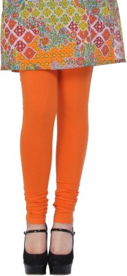 Shop Gyarah Women's Orange Leggings