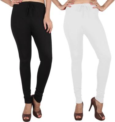 Danbro Women's White, Black Leggings