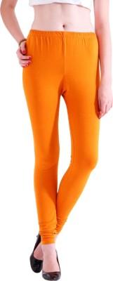 Adam n Eve Women's Orange Leggings