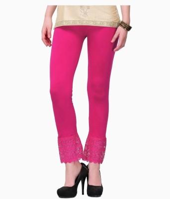 MDS Jeans Women's Pink Leggings