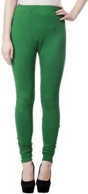 JUST CLIKK Women's Green Leggings