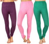 SLS Women's Purple, Pink, Green Leggings...