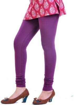 V Brown Women's Purple Leggings