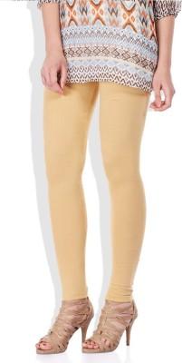 Fadattire Women's Beige Leggings