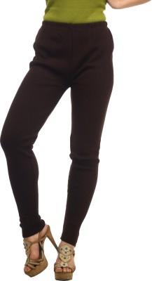 Suhi Women's Brown Leggings