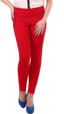 Street 9 Women's Red Leggings