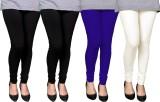 PAMO Women's Black, Blue, Beige Leggings...