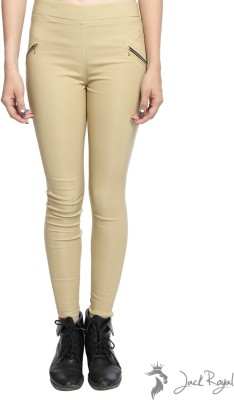 Jack Royal Women's Beige Jeggings