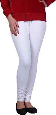 Vivid Bharti Women's White Leggings