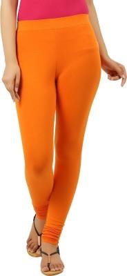 New Darling Women's Orange Leggings