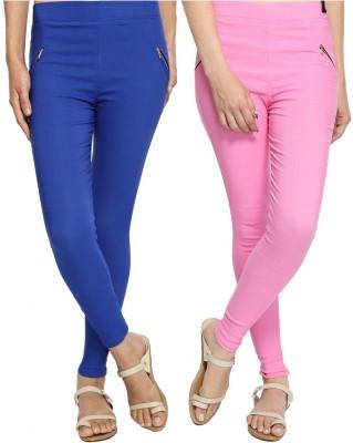 StyloFashionGarments Women's Blue, Pink Jeggings