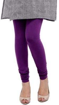 Family Bazaar Women's Purple Leggings