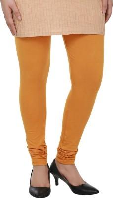 Dlina Women's Yellow Leggings