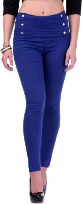 Sassafras Women's Blue Jeggings