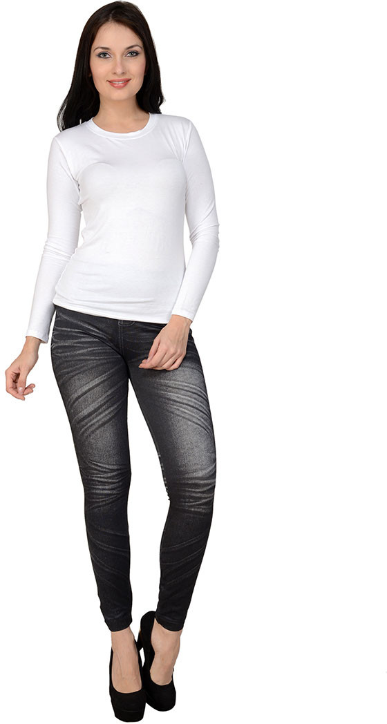 Sportelle USA India Womens Grey Jeggings