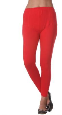 Prestitia Women's Red Leggings